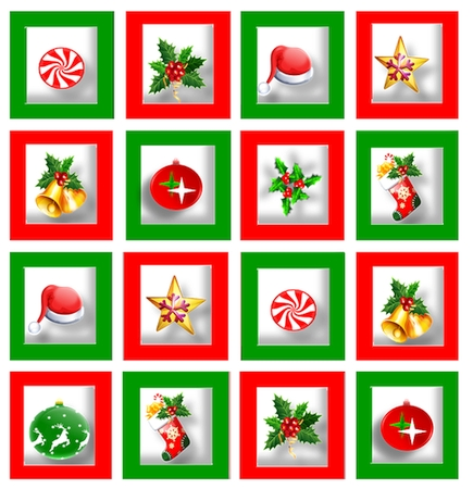 Christmas Icons Stickers