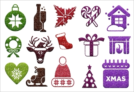 Christmas Symbols Stickers